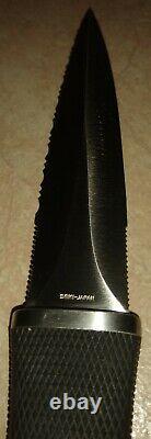 VINTAGE RARE SOG Pentagon SEKI JAPAN Combat Boot Fixed Blade Knife Dagger Kydex