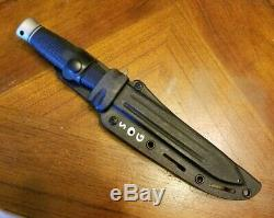 VTG SOG DAGGERT ll 2 TACTICAL FIXED BLADE DOUBLE EDGED DAGGER KNIFE NICE NM