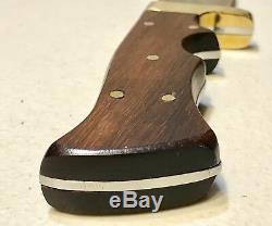 Vintage J. Nowill Sheffield England Bowie Blade Knife Dagger Original Sheath Mint