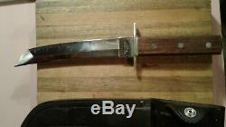Vintage Valor Tanto Kitana Knife Hunting Bowie Dagger Fixed Blade A+ Rare 12