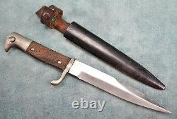WW1 military German boot trench US vet knife dagger blade estate WW2 Army combat