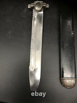WWII German Red Cross Dagger Blade WW2 Knife Bayonet Sheath