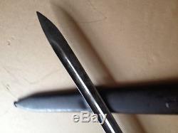 WWI german Wide Blade Knife Dagger WWI WW1 Gew 98