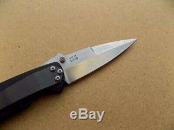 W. R. WR Clark Custom Folding Knife Dagger with ATS-34 Blade