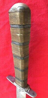 Ww2 Theater Knife Large 11.5 Blade 16.5 Overall Dagger