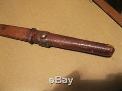 Wwii Knife Craft Philadelphia Dagger 24 / 17.75 Thrusting Heat Treated Blade
