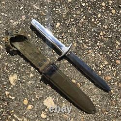 Wwii theater mod trench art fixed blade usm3 paratrooper knife bayonet dagger